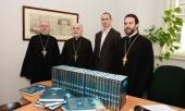 Славянская библиотека Праги приняла дар Московского Патриархата