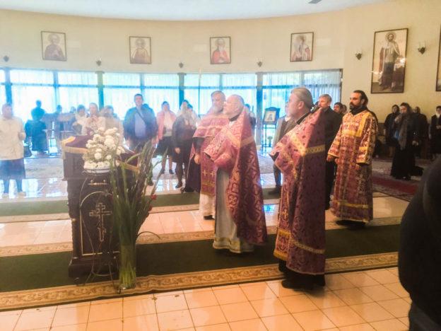 Воздвижение Креста Господня 2018г. - Храм святой мученицы Людмилы княгини Чешской в Праге